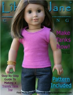 OMG! This site is great. FREE American Girl Doll Clothes Patterns! #sewing #pattern