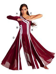 traje de danza