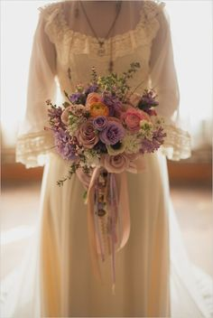 These Vintage Dresses will Captivate Your Romantic Side Gypsy Wedding, Floral Wedding, Dream Wedding, Wedding Flowers, Wedding Bridesmaids, Wedding Bouquets, Wedding Gowns, Irish Wedding, Wedding Inspiration
