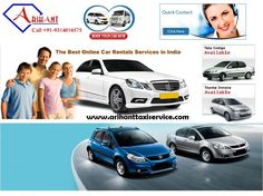 Arihant Tour and Travel offers the reasonable car rental in jaipur. Choose taxi from a fleet of Toyota Etios, Indigo. Call +91-9314016575 & visit  at:http://www.arihanttaxiservice.com/car-rental-in-jaipur.php