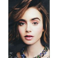 Lily Collins Glamour Magazine (UK) May 2015 Issue ❤ liked on Polyvore featuring lily collins and photos