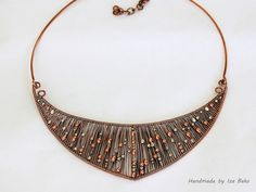 Galaxy 2 necklace by Izabella Bako.
