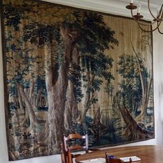 Tapestry for Staircase