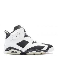 check out c6b3d bd8b9 Air Jordan 6 Retro Oreo White Black 384664 101