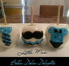 bella_dolce_delights, Little Man Candy Apples