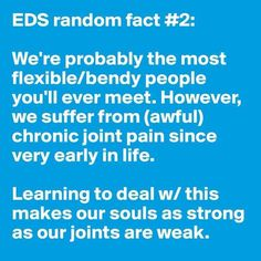 """There's no such thing as """"double-jointed"""". 