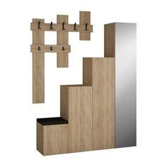 Set dulap și cuier de perete Homitis Up Sonomo | Bonami