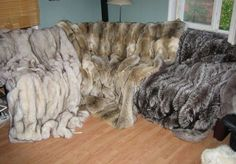 My collection of fur blankets, fur coats and mohair blankets. Mohair Blanket, Fur Bedding, Fur Rug, Fur Throw, Soft Blankets, Bed Spreads, Shag Rug, Rugs, Fur Coats