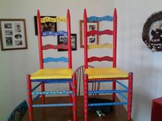 Hand painted chairs :)