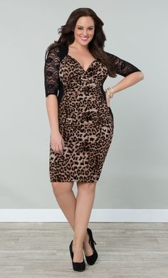 Our best-selling plus size Stop and Stare Ruched Dress is ready to help you make an impression.