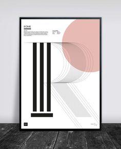 Buus Works - Rome Posters 50 x 70 cm.