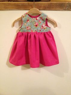 Reversable Fall Baby Dress Joanna Mobley Baby Clothes Pinterest