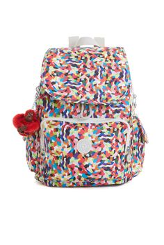 Back to School 2015: Kipling's nylon backpack. [Photo: Courtesy]