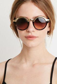 Combo Round Sunglasses   Forever 21 - 1000130579 Acessórios Femininos, Óculos  De Sol Redondos, 9c6c4244db