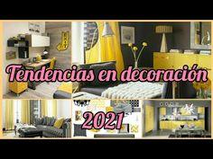 TENDENCIAS EN DECORACIÓN GRIS Y AMARILLAS 2021 COLORES [IDEAS PARA DECORAR TU CASA 2021 - YouTube Youtube, Ideas, Home Decor, Gray Decor, Yellow, House Decorations, Interiors, Colors, Style