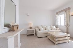 Simple yet eligant suites are what Santorini Secret Suites and Spa are all about