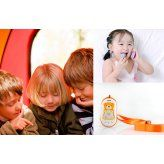 GPS Tracker Phone for Kids with SOS Calls and Voice Monitoring (Worldwide Quadba - Baby Monitors