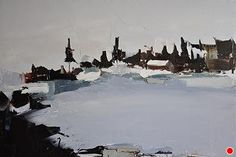 Winter Landscape by Sandra Pratt Oil ~ 18 x 24
