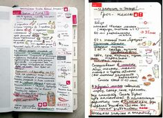 I SO want this moleskine recipe book!