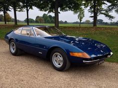Ferrari Daytona:  Growing up in LA in the 60's, you would see these often.   Wish I'd stole one and hid it.