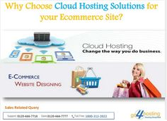 Influence of #Cloud#Hosting on Ecommerce Site There is a revelation that an ecommerce site complements the attributes of #cloud computing because of the cyclical nature of the business.