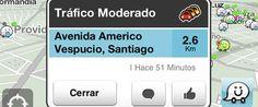 Waze: navegador social de tráfico a tiempo real