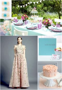 Pink and Turquoise Palette