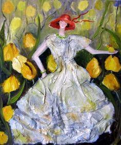 Krystyna-Ruminkiewicz - Wśród tulipanów