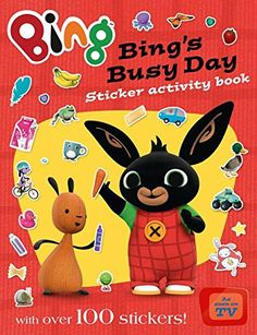 Buy Bing's Busy Day Sticker Activity Book at Mighty Ape NZ. Discover the world of Bing with this colourful, fun sticker book. Join Bing as he shows you his favourite things in the whole wide world -. Bing Bunny, Little Barn, Blue Peter, Indian Dolls, Toddler Play, Every Day Book, Busy Book, Book Summaries, Activity Days
