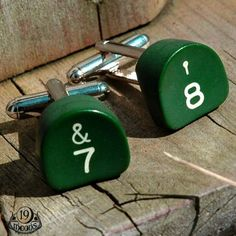 Re purposed typewriter key cufflinks