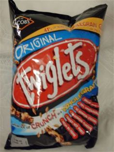 Twiglets: Marmite flavored twig-shaped sticks are the closest thing I can get to pretzels at our local supermarket.