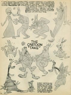 Advanced Animation (Part Line of Action) by Preston Blair Some of the characters drawn above can be seen in such shorts as Dumb Hounded Lucky Ducky Jerky Turkey and Swing. 1930s Cartoons, Old School Cartoons, Animation Sketches, Animation Reference, Character Poses, Character Drawing, Character Design Animation, Character Design References, Cartoon Drawings