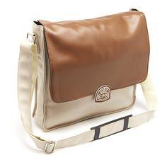GPO Retro Record Bag, Cream/Tan | Prezola - The Wedding Gift List