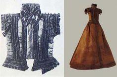 Spanish style dress, from 16th century found in Sarospatak, Magyar Nemzeti Muzeum, Budapest