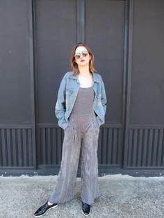 Carol Feltz: Listras+Jeans= ♥