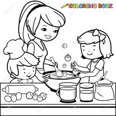 Ratatouille Coloring Pages Cooking Coloring Pages Printable - Baliod Free Disney Coloring Pages, New Year Coloring Pages, Food Coloring Pages, Coloring Pages For Girls, Coloring For Kids, Coloring Sheets, Coloring Books, Flower Pictures, Colorful Pictures