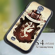Targaryen Game of Thrones for Samsung 9600 (Leave a Note) Samsung Galaxy S4, Game Of Thrones, Lunch Box, Notes, Accessories, Report Cards, Bento Box