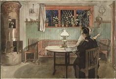 Carl Larsson (1859-1928): When the Children Have Gone to Bed