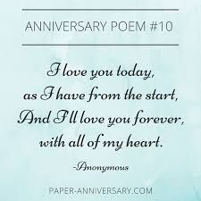 Image Result For Silver Wedding Anniversary Poem
