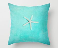 starfish-2 Throw Pillow by Sylvia Cook Photography | Society6
