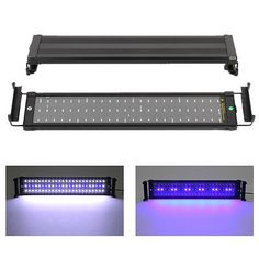 "72 LED Aquarium Light Full Spectrum Marine for 20""-28"" Fish Tank Lamp Extendable - http://pets.goshoppins.com/fish-aquariums/72-led-aquarium-light-full-spectrum-marine-for-20-28-fish-tank-lamp-extendable/"