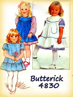 Vintage Sewing Pattern Butterick 1980s 4830 by mmmsvintagepatterns
