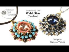 Wild Star Pendant (Jewelry-Making Tutorial) - YouTube