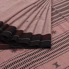 Vriksh Handwoven Kotpad Cotton Saree with Stripes 10006913 - AVISHYA