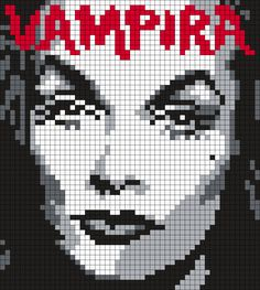 Vampira (Square Grid Pattern)