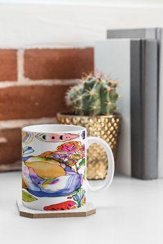 Crump Blossom Pastel Coffee Mug