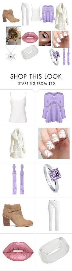 """""""Untitled #555"""" by megibson2005 on Polyvore featuring WithChic, Oscar de la Renta, BERRICLE, Sole Society, Frame, Lime Crime, INC International Concepts and Allurez"""