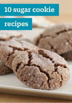 10 Sugar Cookie Recipes – Most cookies, bars, and brownies start with butter, sugar, and vanilla. But what sets these apart from the rest is special ingredients like cream cheese, chocolate, sour cream or even JELL-O for added flavor and color. Thanks to festive sprinkles and icings, they make excellent dessert ideas for your cookie exchange or give them as a homemade edible gift.