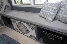 Filing Cabinet Window Seat