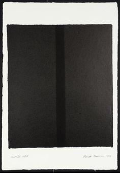 Barnett Newman, 'Canto IV' 1963-4
